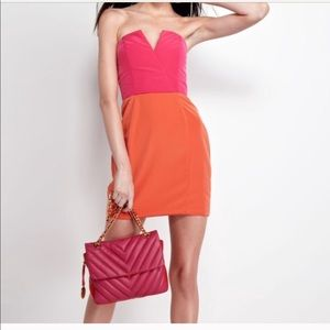 Naven Color Block Dress
